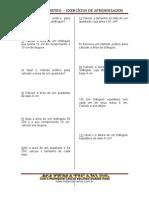 Area e Perimetro de Poligonos - Exercícios de Aprendizagem - 3ª Edição