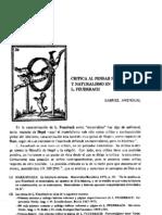 AMENGUAL Gabriel_Crítica al pensar histórico y naturalismo en L. Feuerbach (Universitat de Illes Balears - Revista Taula. Quaderns de pensament - vol. 1 - 1982, pp. 53-66)