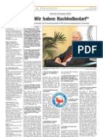 Luxemburger Wort - 12/04/2008 - Interview mit Jacques Santer
