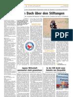 Luxemburger Wort - 17/05/2008 - Ein Dach über den Stiftungen