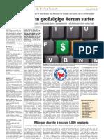 Luxemburger Wort - 20/05/2008 - Wenn großzügige Herzen surfen