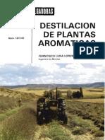 Destilacion de Plantas Aromaticas