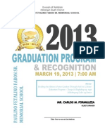Graduation Program Pato-o