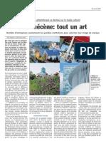 Luxemburger Wort - 23/04/2008 - Etre mécène