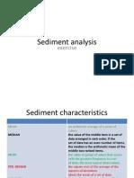 Sediment Analysis