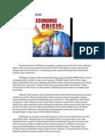 Krisis Ekonomi Di Malaysia