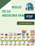 Desarrollo de La Medicina Familiar
