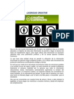 Licencias Creative