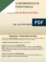 SIGP - Explotación de Bases de Datos
