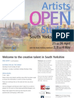 Open Up Brochure 2009