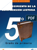 Cuadernillo de Actividades - Fortalecimiento de La Comprension Lectora - 5 Grado de Primaria[1]