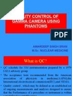 Quality Control of Gamma Camera Using Phantom
