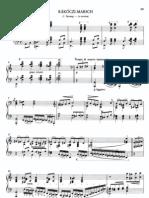 Liszt Rakoczi March Hungerian Rhapsody No 15