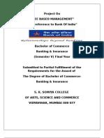 Fee Based Management