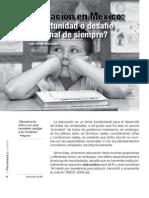 Educacion en Mexico- Camara de Senadores