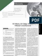 El Tributo, El Código Tributario y el Tribunal Constitucional