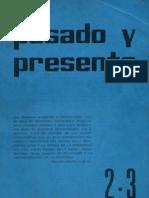 Pasado-y-Presente - primera-epoca-nº-2-3-1963