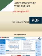 SIGP - Metodologías INEI