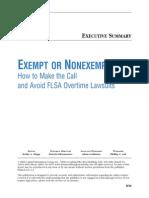Exempt Non Exempt 09