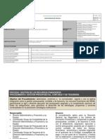 Proceso Ejecucion Recursos Financieros