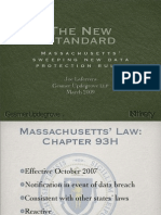 The New Standard - Massachusetts' Sweeping New Data Protection Rules