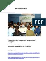 Todos Somos protagonistas Ministerio de Educación Río Negro_0