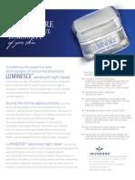 LUMINESCE advanced night repair