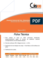 GISXXI, Encuesta Electoral 201303