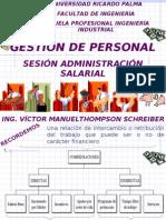 Gestion de Personal Sesion Administracion Salarial