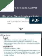 Microbiologia de lixões e aterros