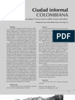 Ciudad Informal Colombiana