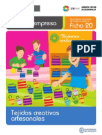 Ficha Extendida 20 Tejidos Artesanales