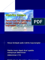 Matriks Invers