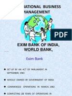 Unit 2 7 World Bank Exim Bank of India