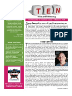 TEN Newsletter Spring 2013