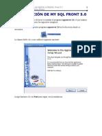 INSTALACIÓN DE MY SQL FRONT 5  - Aleksandr Quito Perez