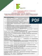 2011101113834506temas Prova de Discursiva - Area de Conhecimento Da Vaga