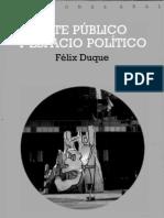 Arte público y espacio político