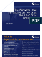 Brochure 27001 Implementation