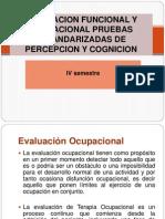 Evaluacion Funcional y Ocupacional Pruebas Estandarizadas de Percepcion