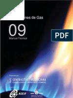 Guía de instalaciones de gas