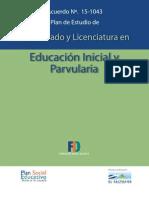 Educacin Inicial y Parvularia0