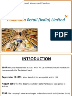 Pantaloons Retail India Limited