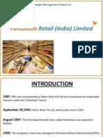 Pantaloons Retail India Limited
