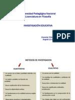 METODOS CUALITATIVOS DE INVESTIGACIÓN. LC. FILO