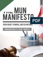 MUN Manifesto