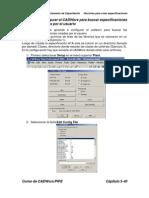 Ejercicio4_Configurar el CADWorx para buscar especificaciones y librerías creadas por el usuario