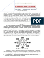 Topologies in Unstructured Peer To Peer Networks