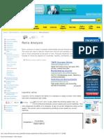 Accounting Principles II_ Ratio Analysis