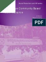 HIV-Sensitive Community Based Health Insurance